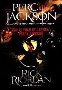 Percy Jackson (Tập 6): Các vị thần Hy Lạp của Percy Jackson