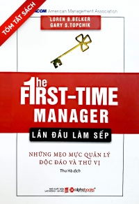 [Tóm tắt sách] - Lần đầu làm sếp