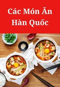 Các món ăn kiểu Hàn Quốc
