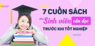 7 cuốn sách các bạn sinh viên cần đọc trước khi tốt nghiệp