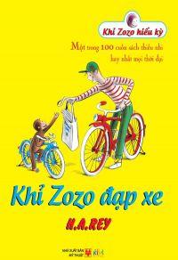 Khỉ Zozo đạp xe
