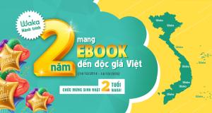 Waka – Hành Trình 2 Năm Mang Ebook Đến Độc Giả Việt